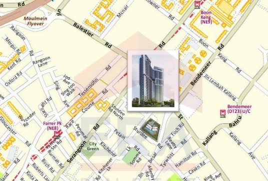 Sturdee Residences Map